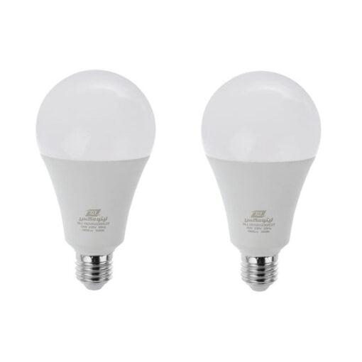 لامپ ال ای دی 18 وات لیتومکس کد 001 پایه E27 بسته 2 عددی