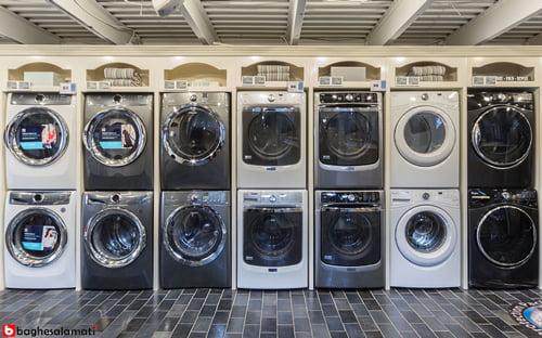اندازه و ظرفیت بهترین ماشین لباسشویی