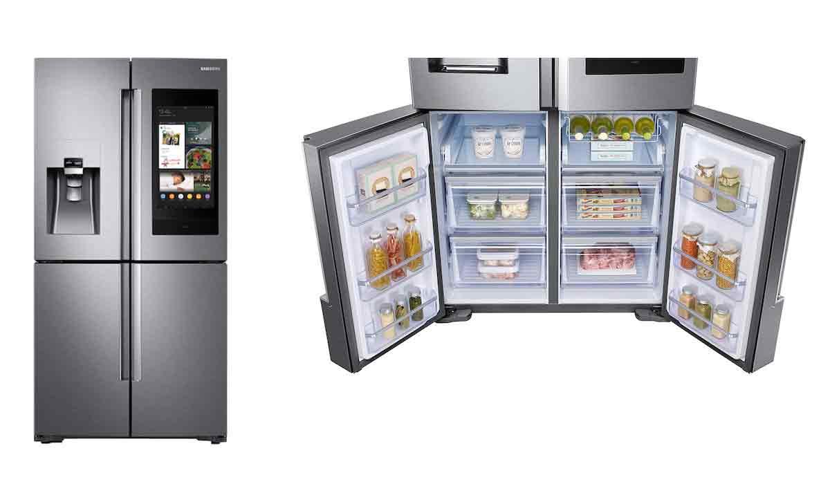 بهترین یخچال هوشمند: سامسونگ RF22N9781SR
