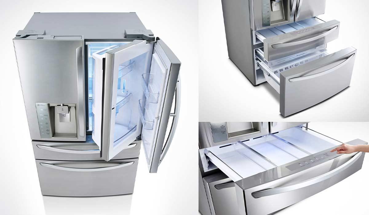 بهترین یخچال کلی: LG LMXS30776S