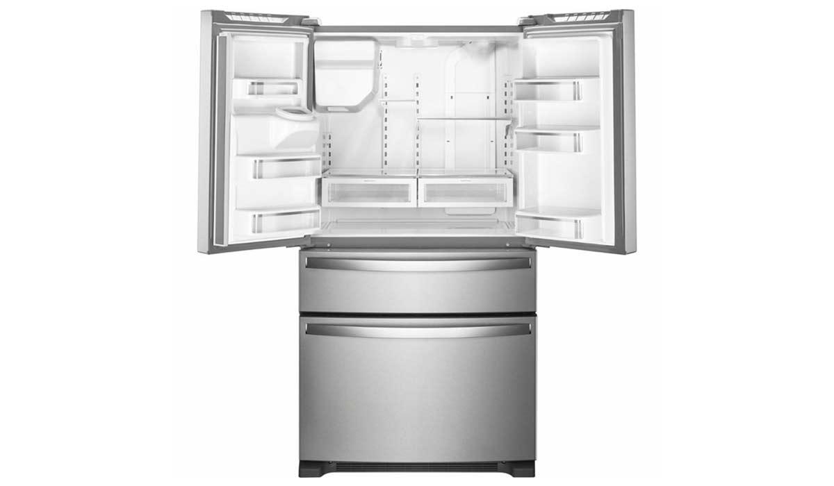 بهترین فضای داخلی یخچال: Whirlpool WRX735SDHZ