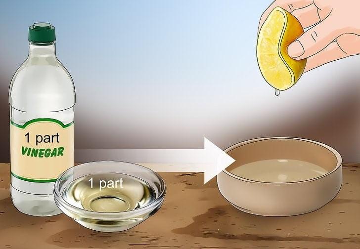 تمیز کردن مبل با استفاده از آب لیمو و جوش شیرین