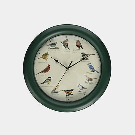 بهترین برای دوستداران پرندگان: ساعت دیواری پرنده آواز مارک فلدشتاین