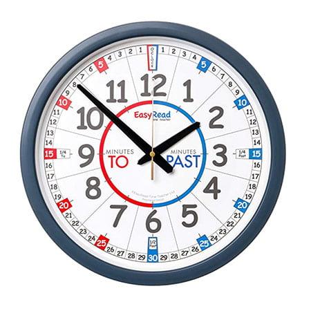 بهترین حالت برای کودکان: EasyRead Time Teacher ساعت دیواری کودکان