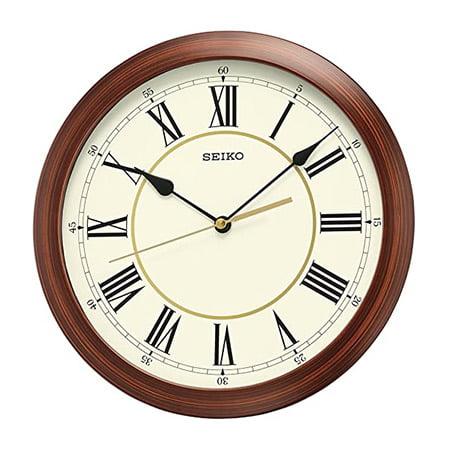 ساعت دیواری کوارتز ژاپنی Seiko QXA597ALH دارای سبک کلاسیک