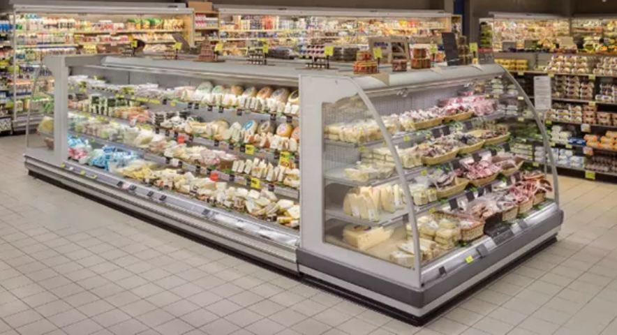 یخچال فروشگاهی از نوع ایستاده سوپری