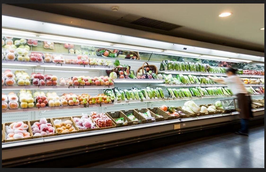 یخچال فروشگاهی ایستاده روباز هایپرمارکتی و صنعتی