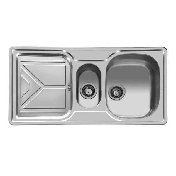 قیمت سینک ظرفشویی استیل البرز