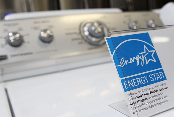 ستاره انرژی یا Energy Star درماشین های لباسشویی ال جی