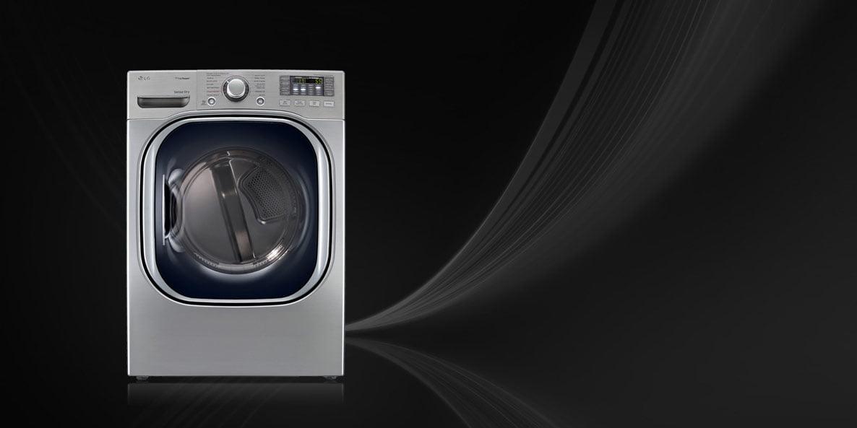 ظرفیت و اندازه ماشین های لباسشویی ال جی
