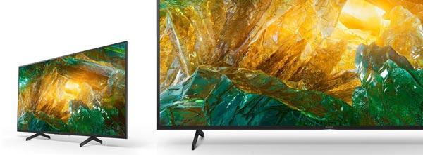 طراحی تلویزیون سونی 55x8000h