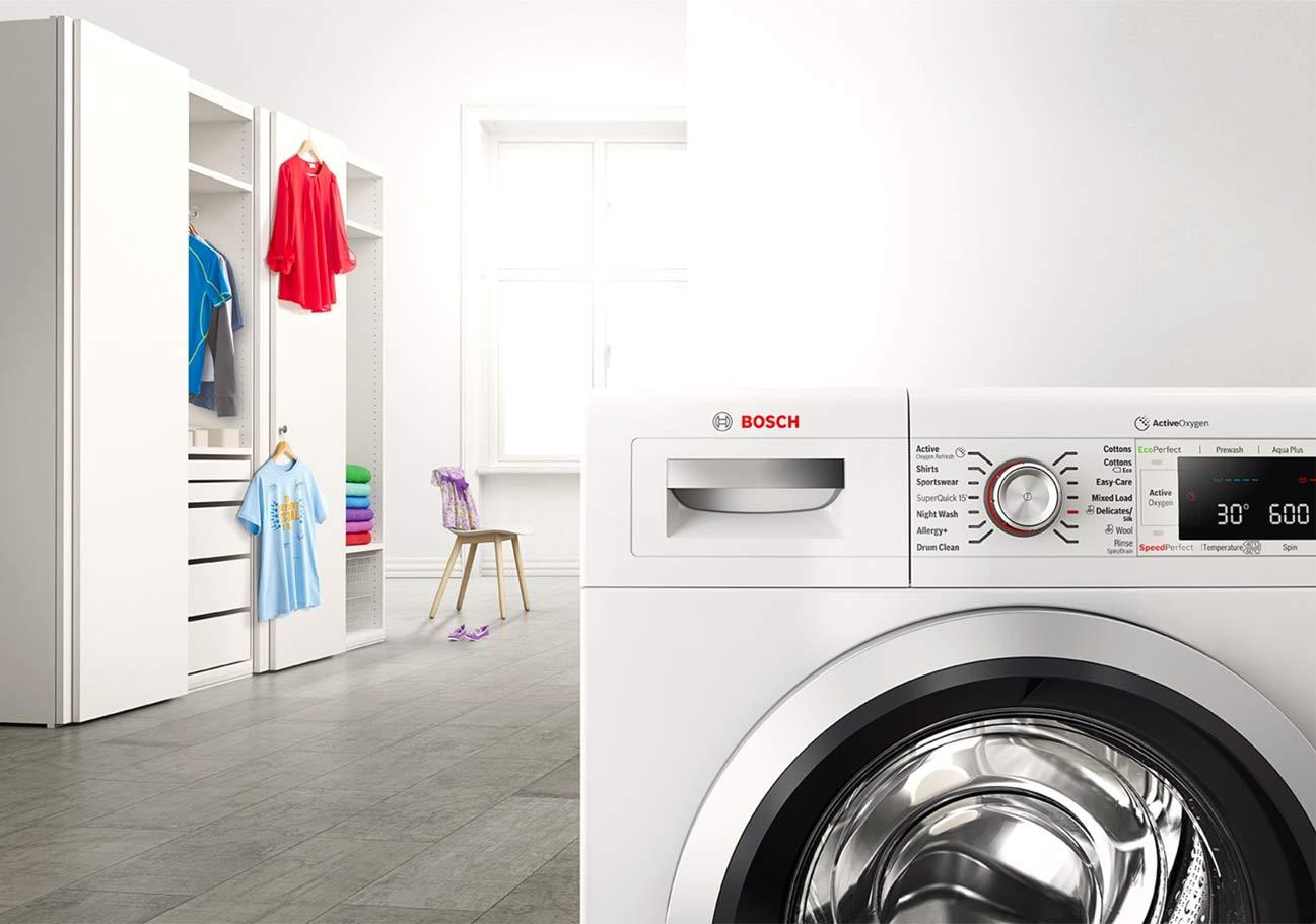 بوش، بهترین و با کیفیت ترین کمپانی در تولید ماشین لباسشویی