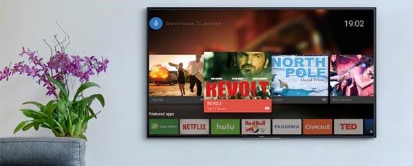 امکانات هوشمند در تلویزیون سونی 55x8000h
