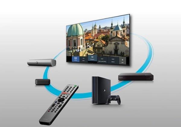 ریموت کنترل تلویزیون سونی 55x8000h