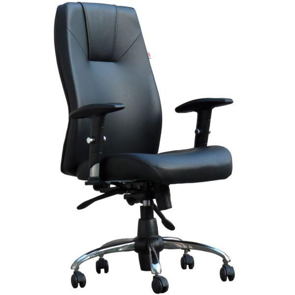 صندلی اداری آرکانو مدل D550A چرمی نقد و بررسی وقیمت خرید 2021