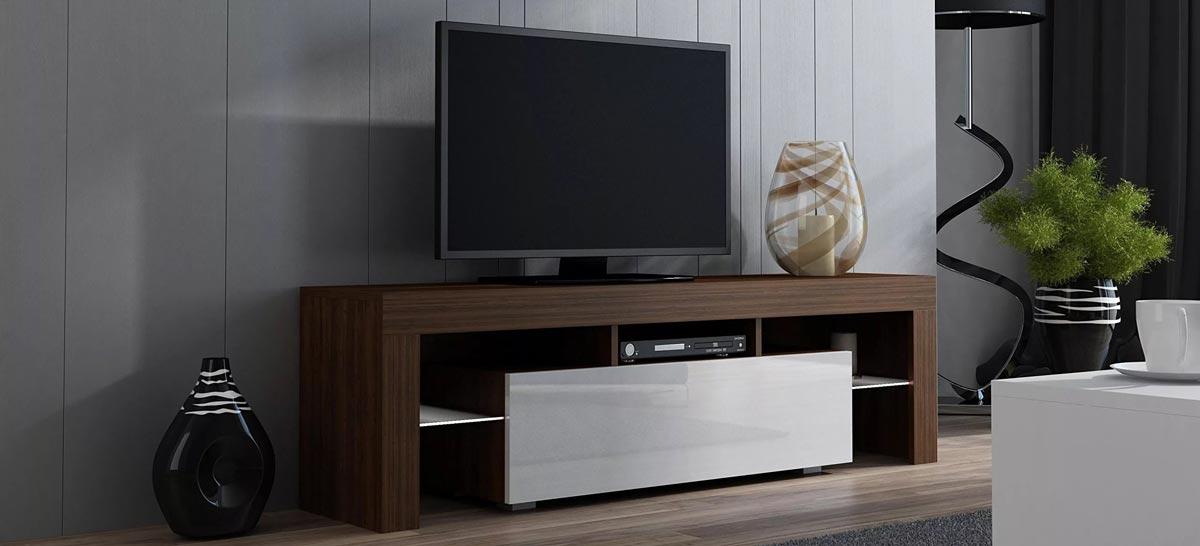قبل از خرید میز تلویزیون حتما ابعاد تلویزیون تان را اندازه گیری کنید