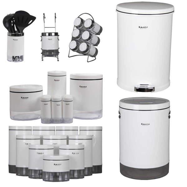 60 مدل سرویس آشپزخانه جدید برای عروس ها و آشپزخانه های مدرن