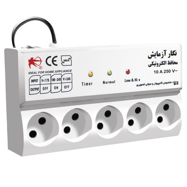 محافظ برق هوشمند تایمردار 43 نمونه باکیفیت محافظ ولتاژ خانگی