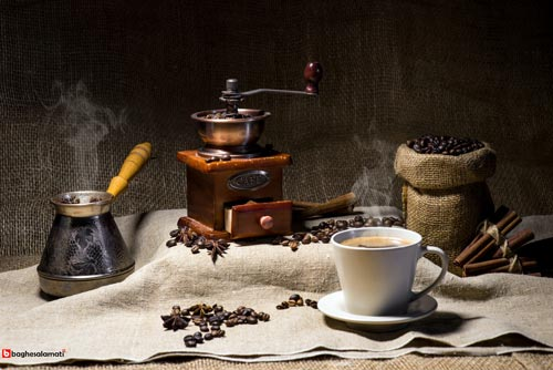آسیاب مناسب دانه های قهوه برای دم کردن قهوه ترک
