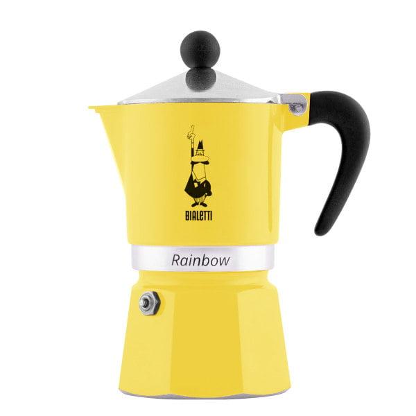 قهوه جوش بیالتی مدل رینبو 3 Cups کد 4982