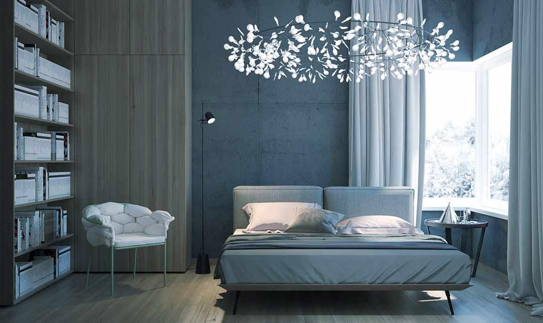 راهنمای خرید لوستر اتاق خواب جدید ارزان