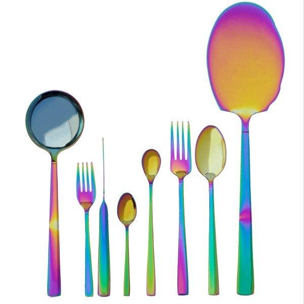 راهنمای خرید سرویس قاشق چنگال هفت رنگ