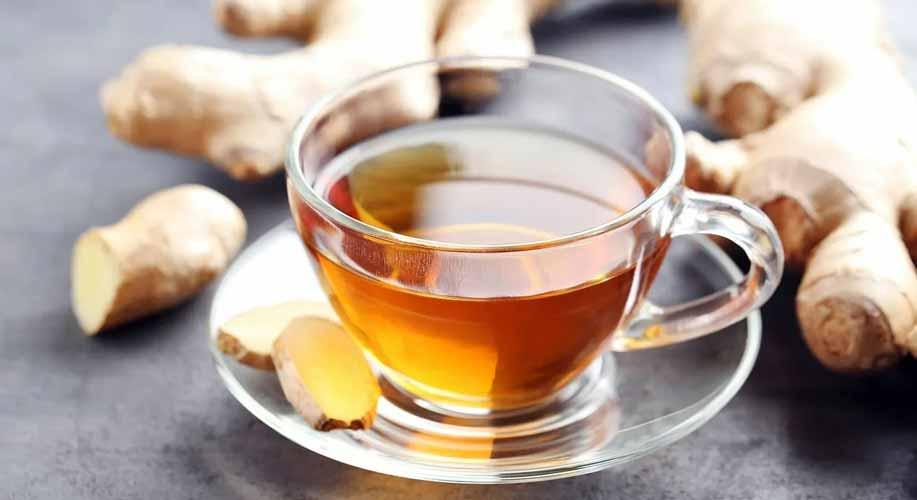 طرز تهیه چای زنجبیل برای قبل خواب