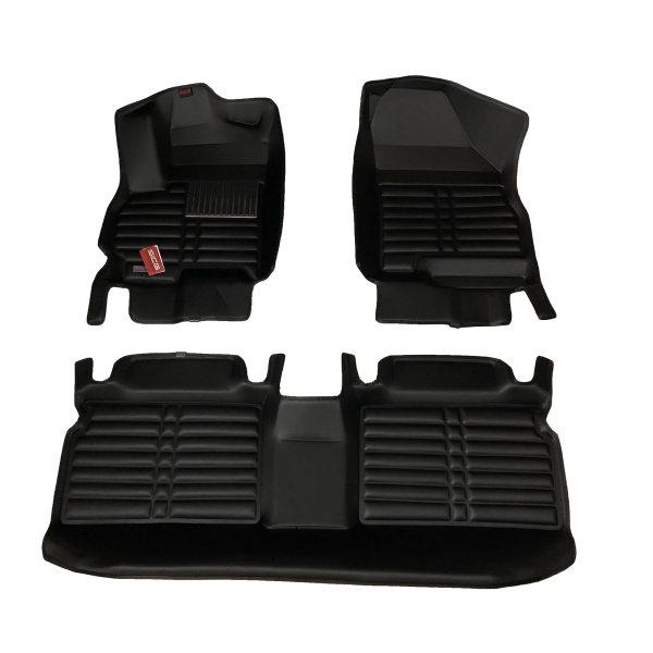 کفپوش سه بعدی خودرو اسایسیجی مدل CARBON مناسب برای چری تیگو 7